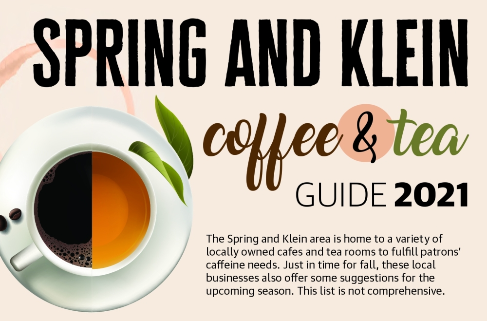 The Spring and Klein area is home to a variety of locally owned cafes and tea rooms to fulfill patrons' caffeine needs. (Ronald Winters/Community Impact Newspaper)