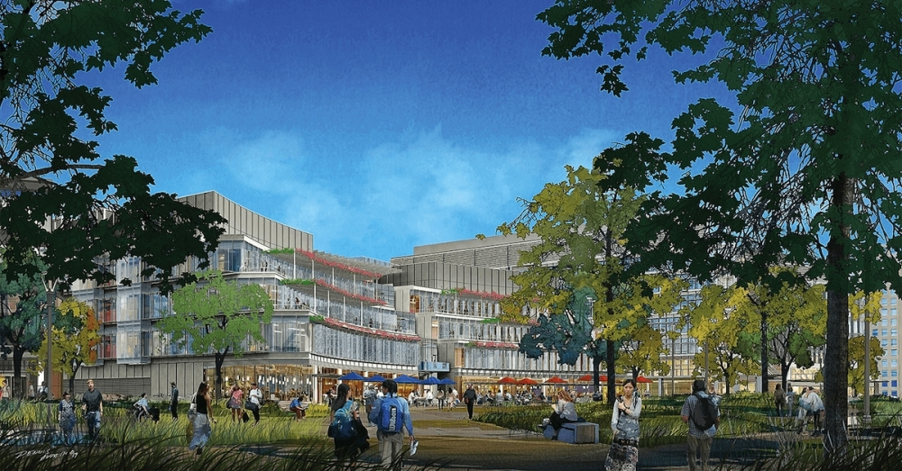 A new collaborative joint research building is in the works that will be housed on Texas Medical Center's new life science campus. (Courtesy Elkus Manfredi Architects)