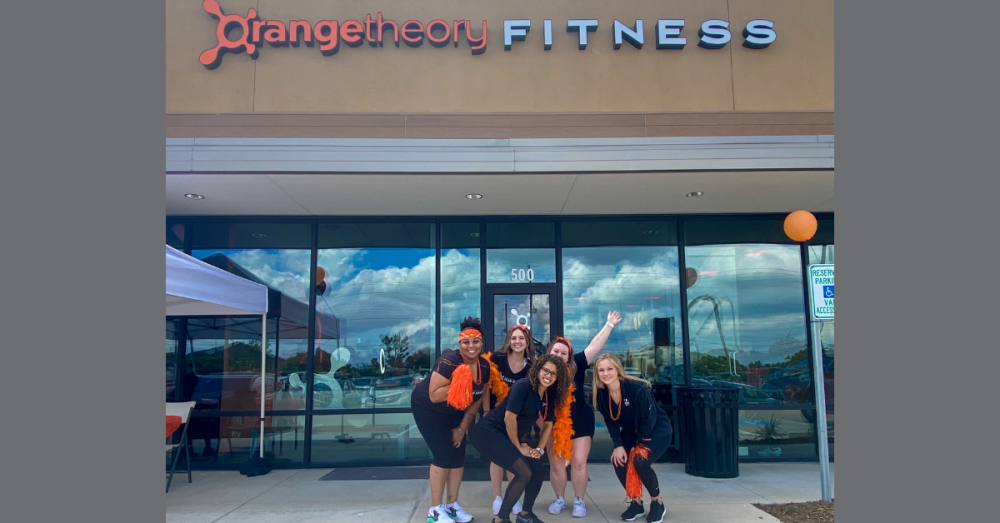 Orangetheory Fitness opened its new Fulshear location Sept. 10. (Holly Galvan/Community Impact Newspaper)