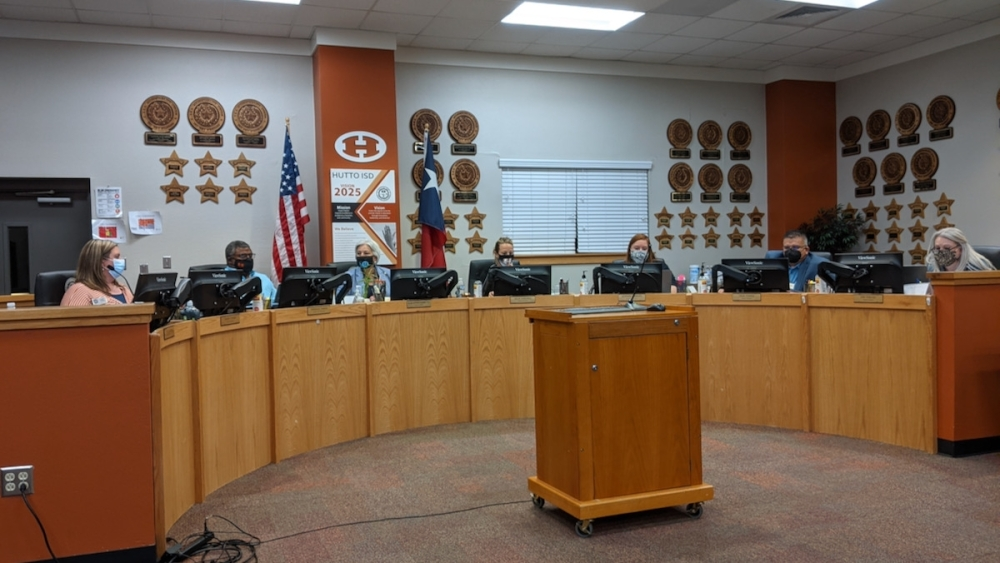 Hutto ISD is preparing to offer a virtual learning program in partnership with education company Pearson. (Carson Ganong/Community Impact Newspaper)