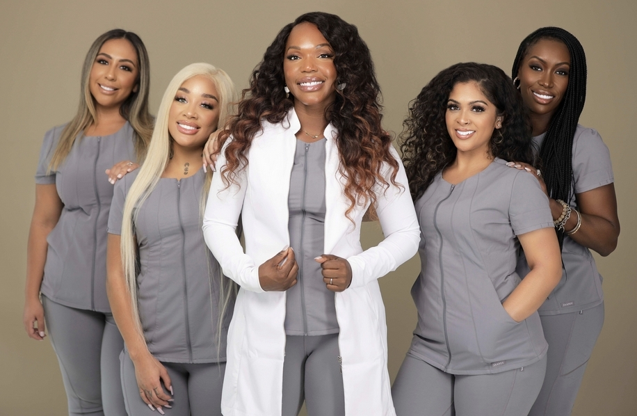 Lush RX, a boutique luxury med spa founded by registered nurse, Krystal Roney-Smith, is both Black-owned and female-run. (Courtesy Emex Photos)