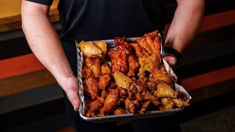Wing Snob soft-opened in September at 1654 FM 423, Frisco. (Courtesy Wing Snob)