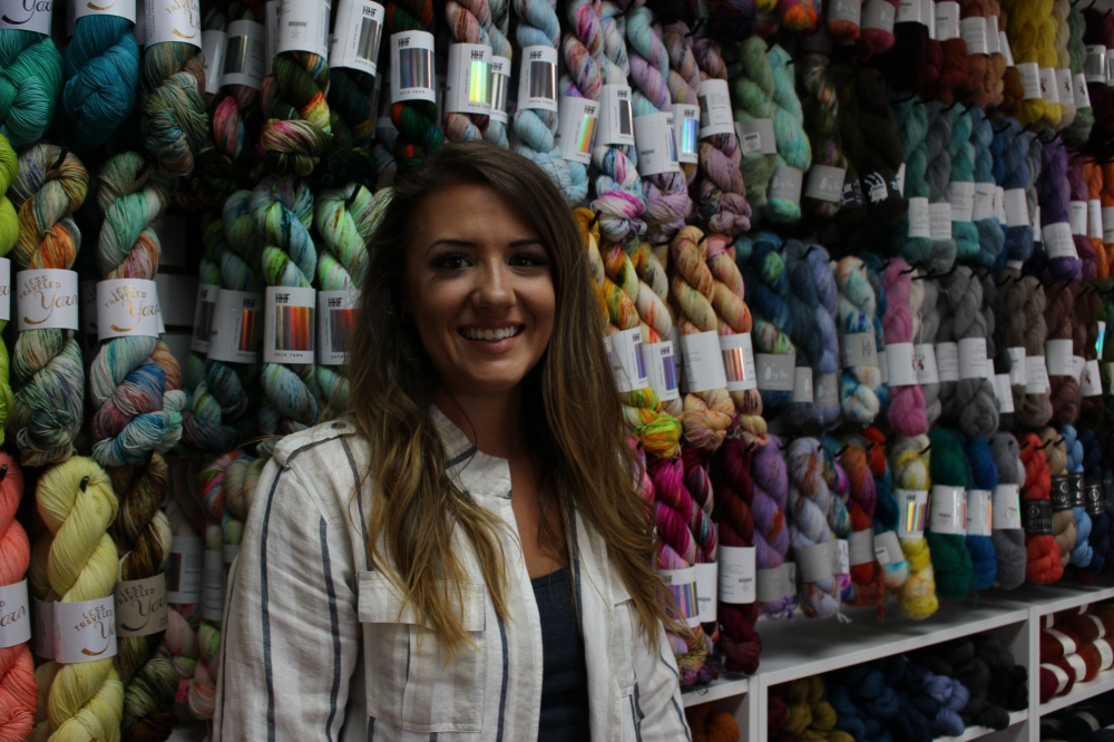 Owner Sharon Graff started The Modern Skein as an online yarn store in July 2017 before moving to a storefront in March 2018. The shop then expanded in 2020 in Montgomery. (Chandler France/Community Impact Newspaper)