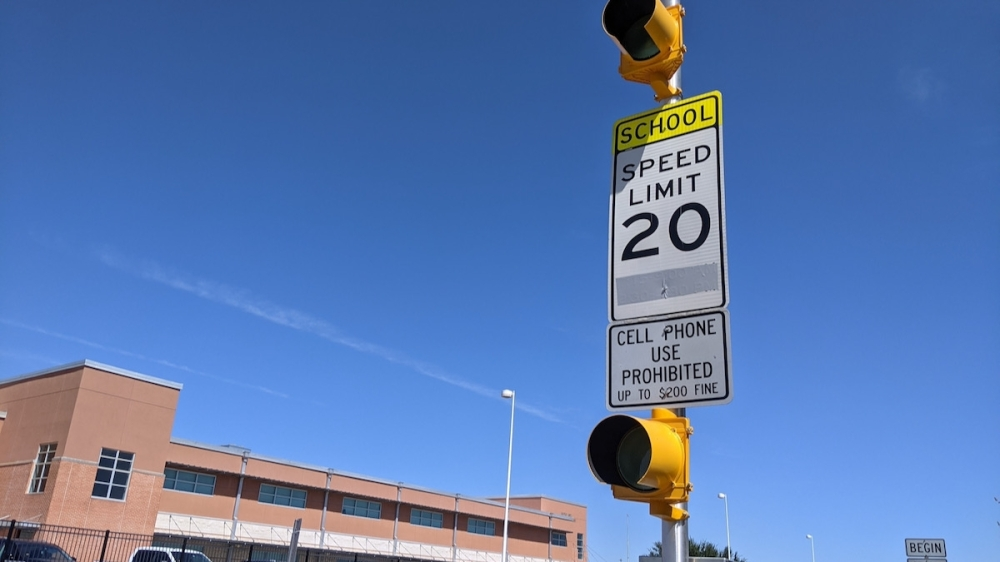 An amendment to Hutto's school zone ordinance passed Sept. 16 will allow the city engineer to freely adjust school zones' active hours. (Carson Ganong/Community Impact Newspaper)
