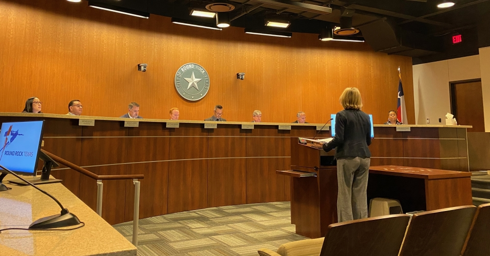 Round Rock Mayor Craig Morgan was authorized by the City Council Sept. 23 to execute a meet and confer agreement with the Round Rock Police Association. (Brooke Sjoberg/Community Impact Newspaper)
