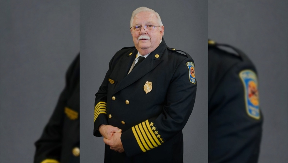 Pflugerville Fire Chief Ron Moellenberg's last day will be Sept. 30. (Courtesy Travis County ESD No. 2)