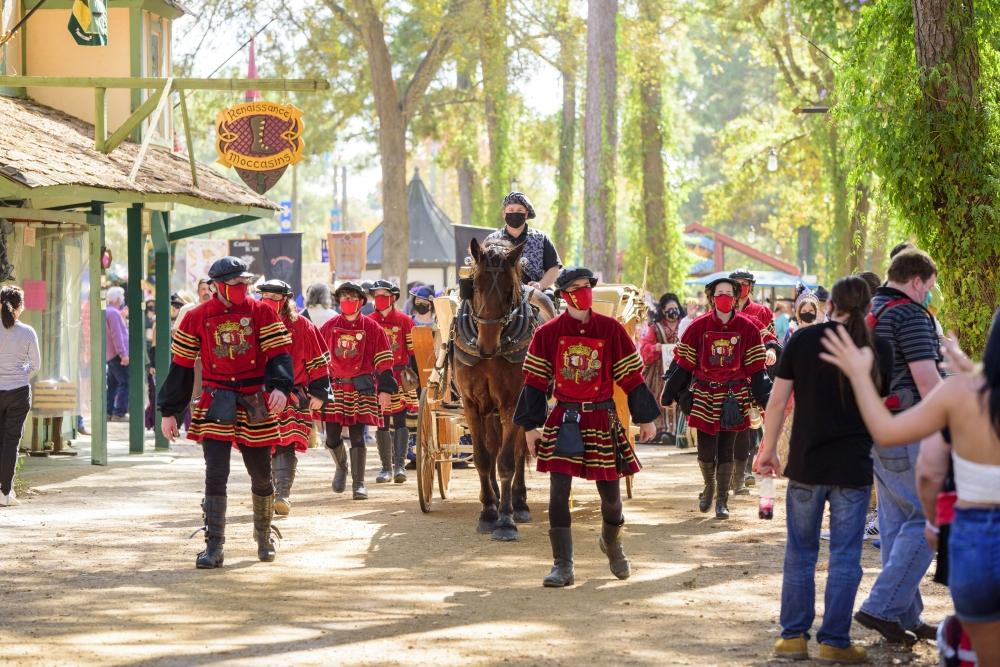 The Texas Renaissance Festival returns for its 47th season in October. (Courtesy Texas Renaissance Festival)