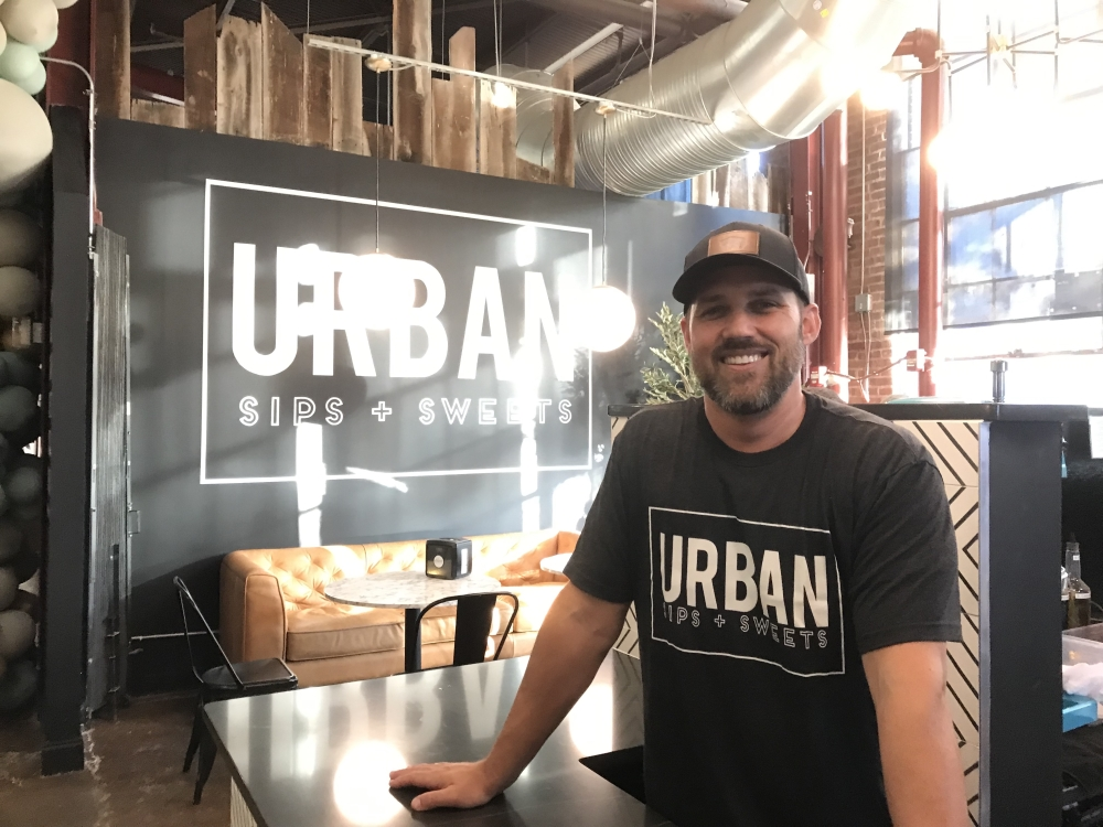 Urban Sips   Sweets opened in September in The Factory at Franklin. (Wendy Sturges/Community Impact Newspaper)