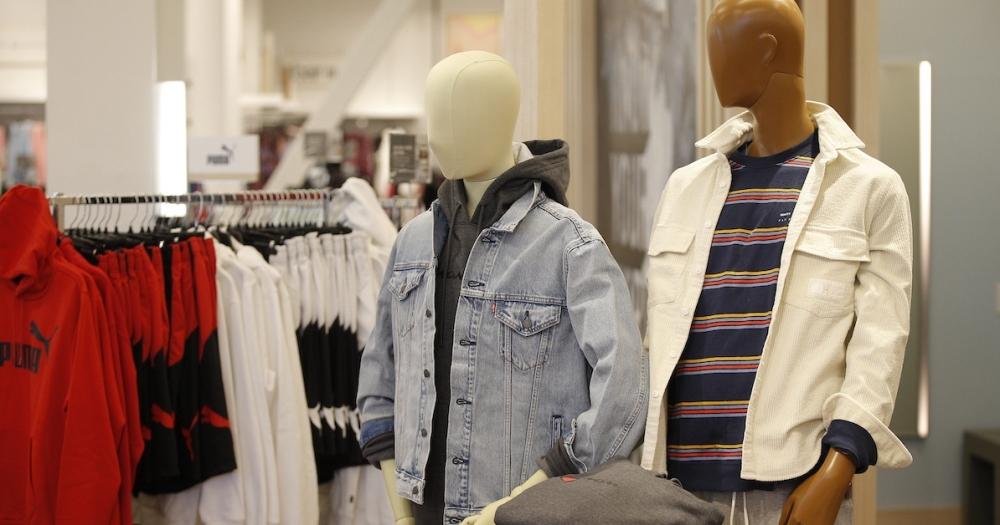 mannequins modeling clothing