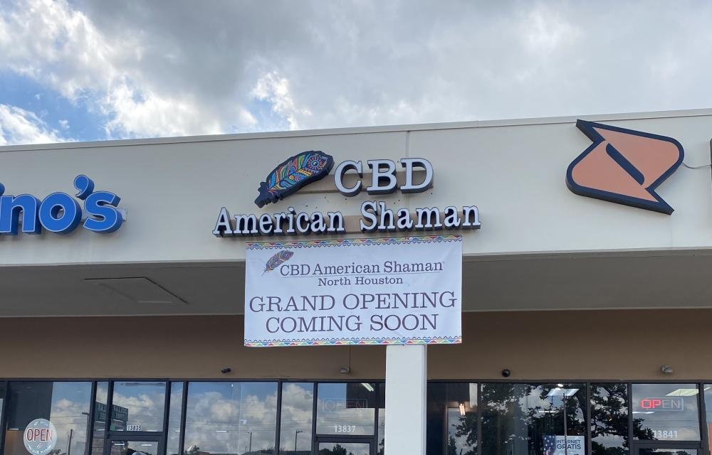 Elgin and Kendra Dawson are the new owners of CBD American Shaman on Cypress North Houston Road. (Courtesy Elgin Dawson)