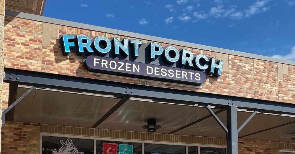 Front Porch Frozen Desserts closed the doors of its 3107 S. I-35, Ste. 770, Round Rock, storefront permanently on Sept. 26. (Brooke Sjoberg/Community Impact Newspaper)