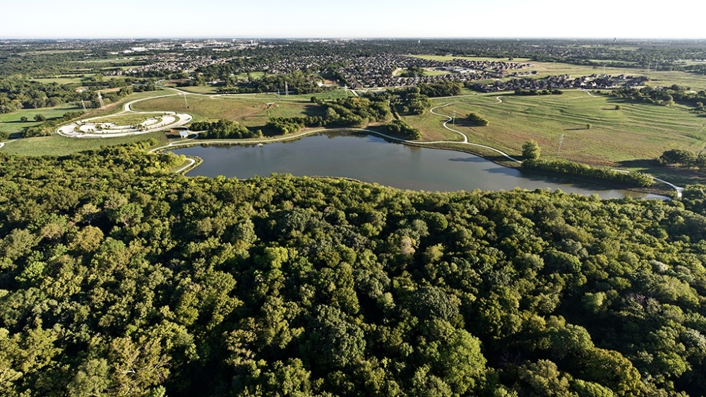 Oak Point Park Nature Preserve earned its sanctuary status in 2015. (Courtesy city of Plano)
