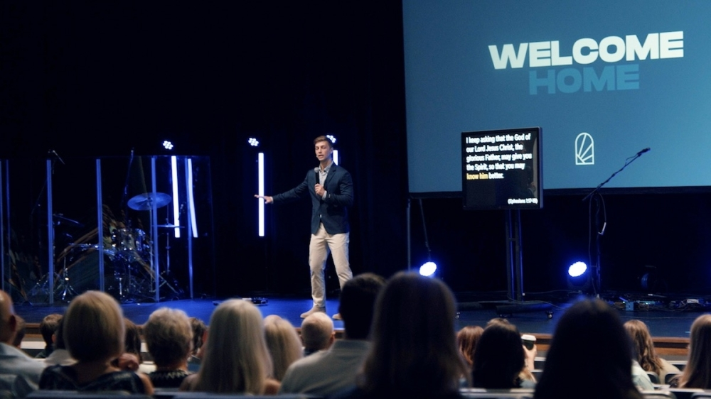 Cadence Church held their first service Sept. 19 at Rock Hill High School, 16061 Coit Road, Frisco. (Courtesy Cadence Church)