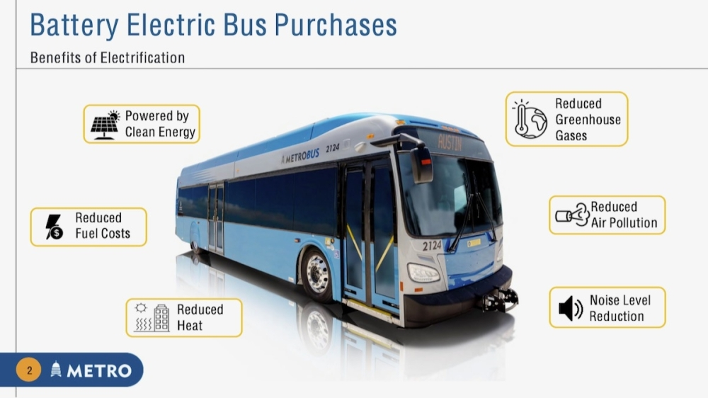 The purchase represents the largest electric vehicles procurement in the nation's history, according to Capital Metro. (Courtesy Capital Metro)