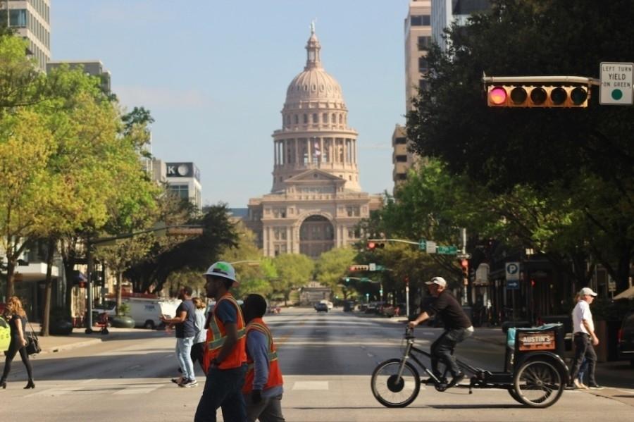 Photo of downtown Austin