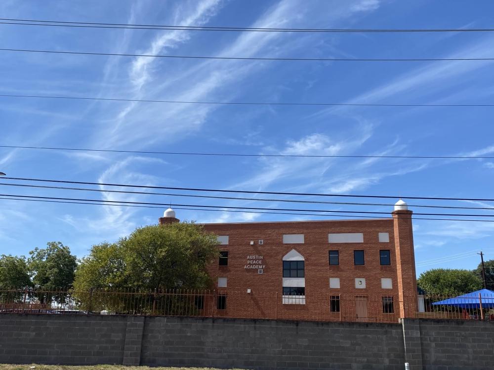 Austin Peace Academy is an East Austin private school. (Darcy Sprague/Community Impact)