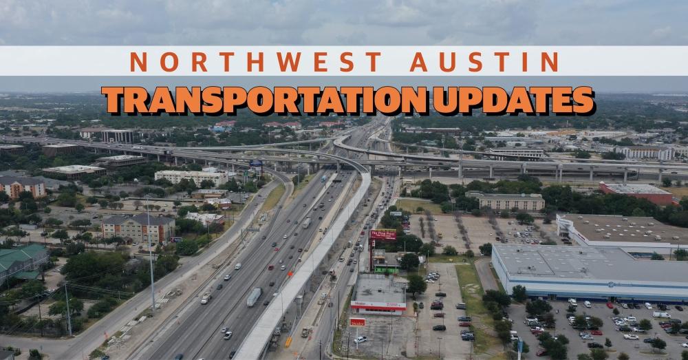Northbound I-35 to northbound US 183 flyover