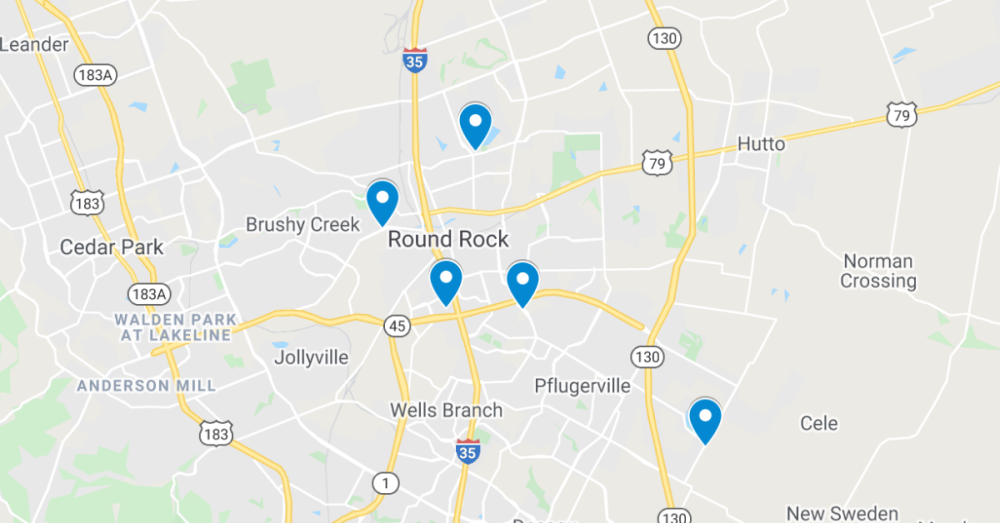 Commercial permits have been filed through the Texas Department of Licensing and Regulation. (Screenshot courtesy Google Maps)