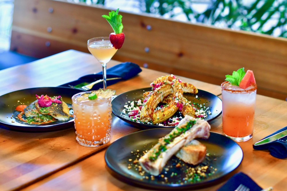 Food at Casa Nomad is inspired by coastal Mexican cities. (Courtesy Michael Anthony)