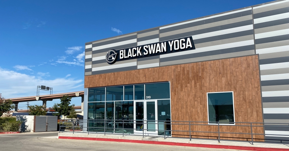 The newest Black Swan Yoga studio will be opening at 2800 S. I-35, Ste. 310, Round Rock, this fall. (Brooke Sjoberg/Community Impact Newspaper)