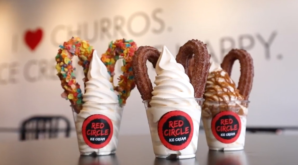 Red Circle Ice Cream is opening a location on Hwy. 6 in Sugar Land in mid-to-late October. (Courtesy Red Circle Ice Cream)