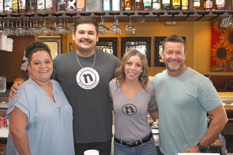 Tim Shaughnessy, Rosi Gibson, Tony Gomez, Jessy Forman, Nando's Mexican Cafe