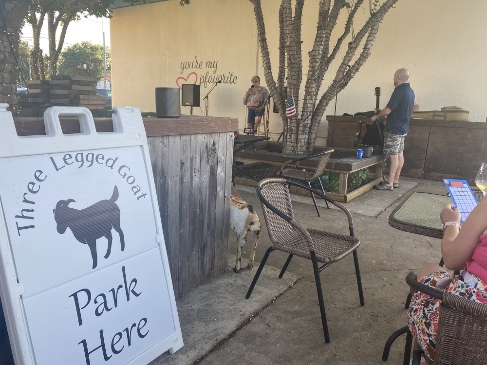 Three Legged Goat features live music every Friday and Saturday night. (Brian Rash/Community Impact Newspaper)