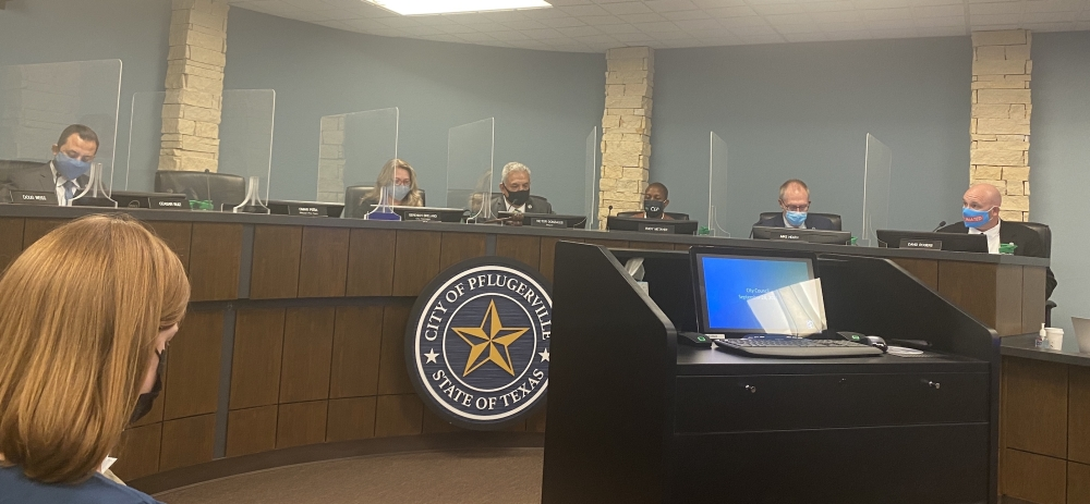 CIty Council approved a wastewater rate increase at a Sept. 28 meeting. (Brian Rash/Community Impact Newspaper)