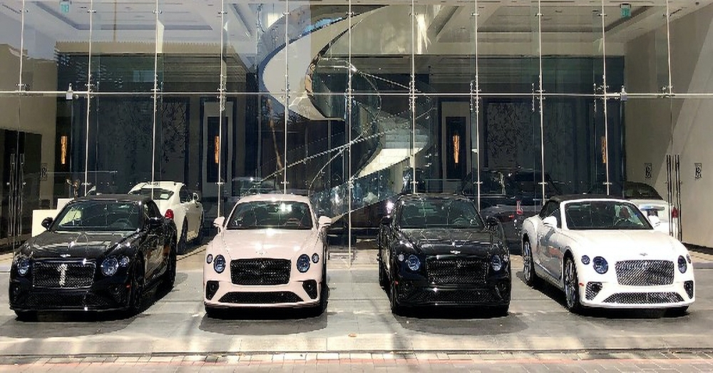 The Post Oak Motor Cars showroom, called The Post Oak Collection, will showcase the company's preowned luxury vehicles, which include Rolls-Royce, Bentley, Karma and Bugatti. (Courtesy Post Oak Motor Cars)