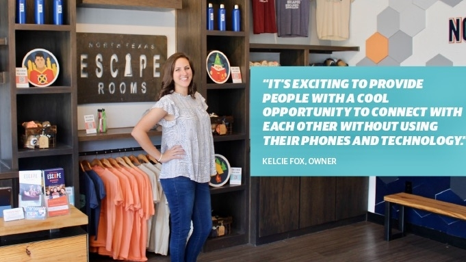Kelcie Fox opened North Texas Escape Rooms' McKinney location in 2015 and the Plano location in 2019. (William C. Wadsack/Community Impact Newspaper)