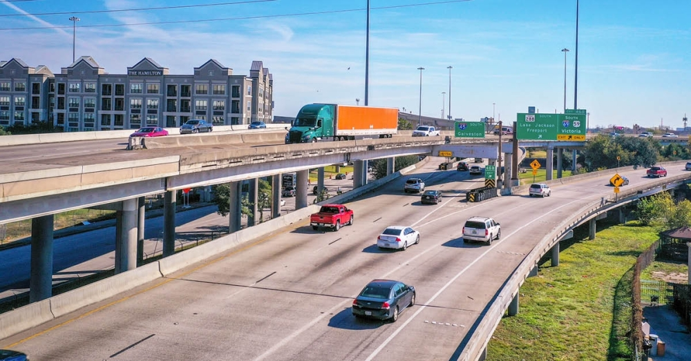 The North Houston Highway Improvement Project proposes widening parts of the highway and rerouting a segment through the East End. (Nathan Colbert/Community Impact Newspaper)