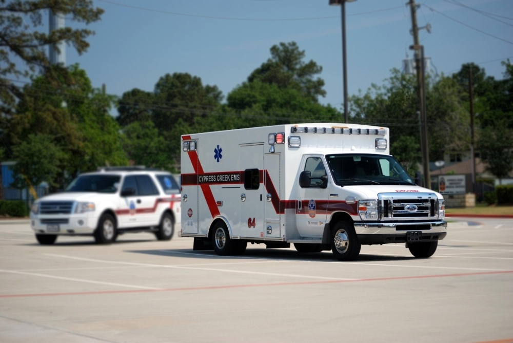 Cypress Creek Emergency Medical Services officials announced in a Sept. 30 news release that the EMS provider will provide critical care medical transport services with St. Luke's Hospital at Vintage Park and St. Luke's Health in The Woodlands. (Courtesy Cypress Creek EMS)