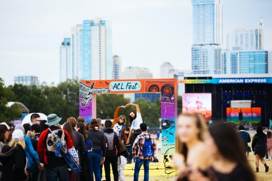 This year ACL will require proof of vaccination or proof of a negative COVID-19 test within three days before attending the festival, according to an ACL news release. (Courtesy Sydney Gawlik/ACL Fest)