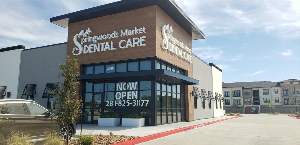 Springwoods Market Dental Care opened in Spring on Sept. 1. (Kim Giannetti/Community Impact Newspaper)