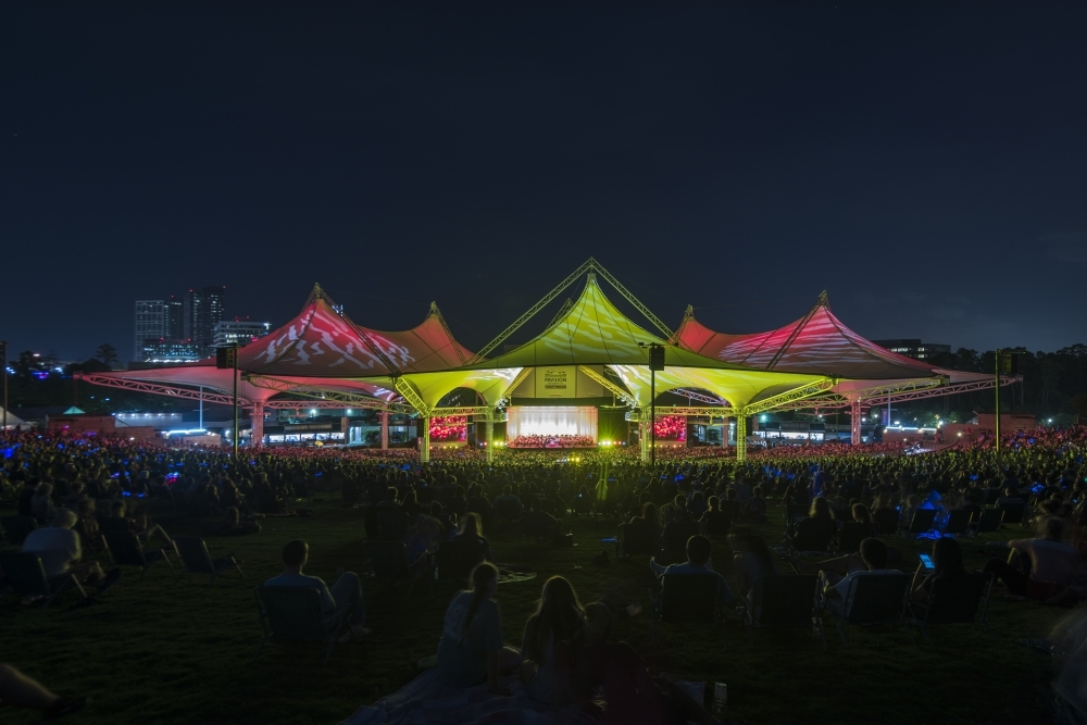 Cynthia Woods Mitchell Pavilion is one of several venues with events planned Oct. 1-3. (Courtesy Cynthia Woods Mitchell Pavilion)
