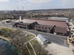 The 17,000-square-foot Marktplatz building to be used for Wurstfest ended up being about a $12 million investment. (Community Impact Newspaper staff)