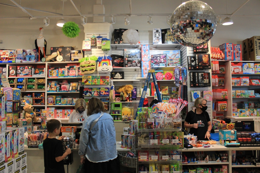 The Toy Maven has three locations—two in Dallas and one in Southlake. (Sandra Sadek/Community Impact Newspaper)