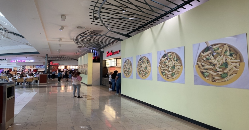 Ta'bleyah Mediterranean is now open in The Woodlands mall food court. (Ally Bolender/Community Impact Newspaper)