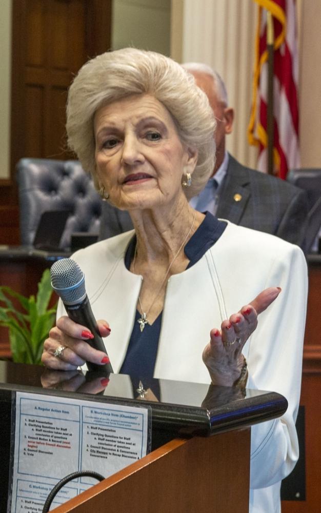 Glenda Gundermann served Sugar Land for 35 years as city secretary. (Courtesy city of Sugar Land)