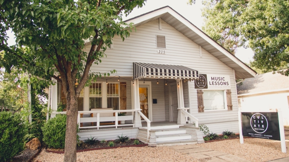 Cultivate Music Studio has another location in addition to its Lamar Street location. (Courtesy Cultivate Music Studio)