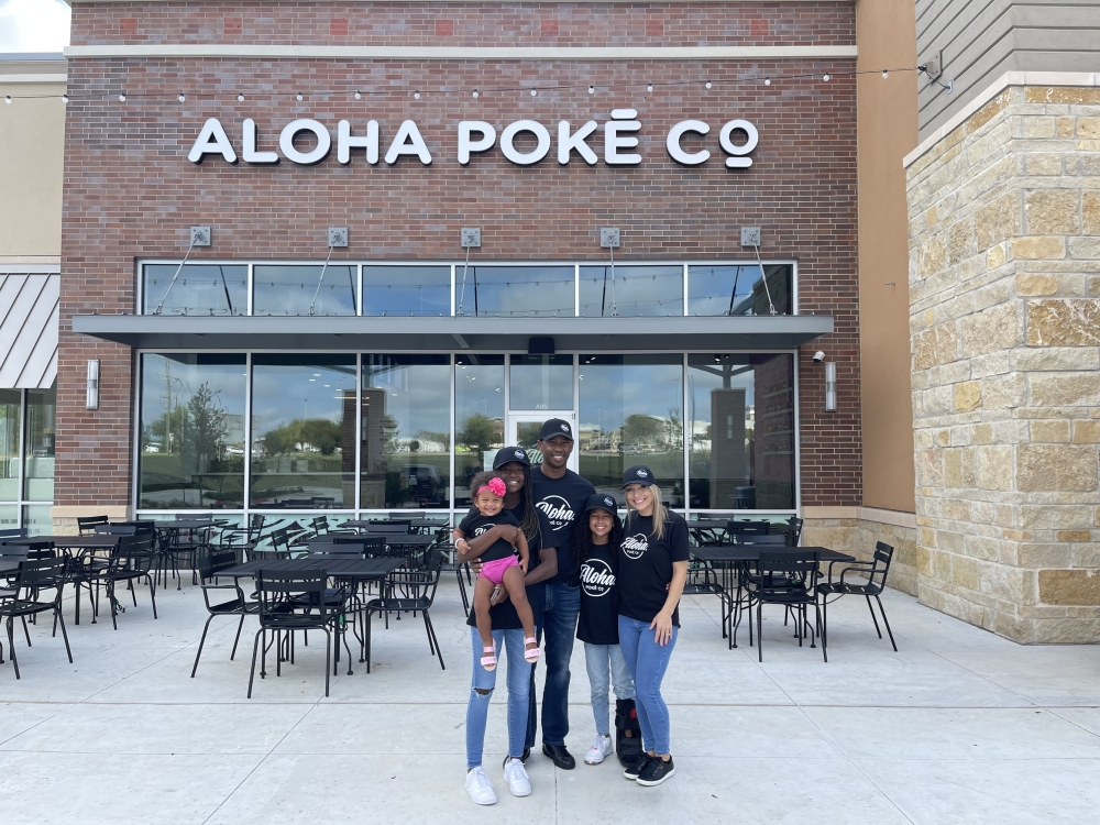 Amanda and Corey Tabb opened Aloha Poke Co. on Oct. 6. (Courtesy Aloha Poke Co.)