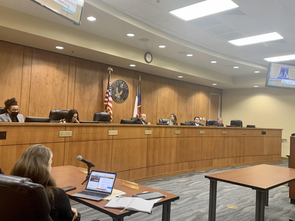 Kyle City Council denied the plan to form a commission that would have sought to create a fair and equitable process for nonprofits to receive funding Oct. 4. (Zara Flores/Community Impact Newspaper).