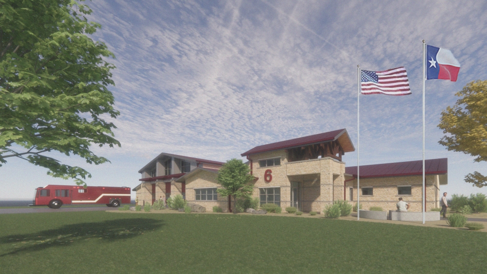 Construction for ESD 2 fire station No. 6 could begin as soon as Dec. 1. (Courtesy Travis County ESD No. 2)
