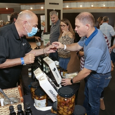 The Wine Walk will have unique vendors selling food, oils and gifts. (Courtesy Food & Vine Time Productions)