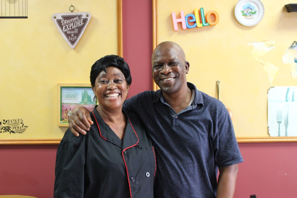 Adunni and Benjamin Fodeke opened Feydups Kitchen in November 2019 after moving from Nigeria to Houston to be closer to many of their adult children. (Photos by Claire Shoop/Community Impact Newspaper)