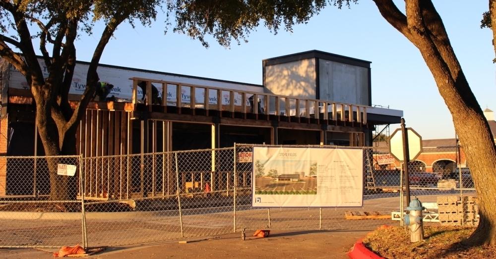 Renovation work is underway on the new Steve Fields' Steakhouse restaurant in Plano. (William C. Wadsack/Community Impact Newspaper)