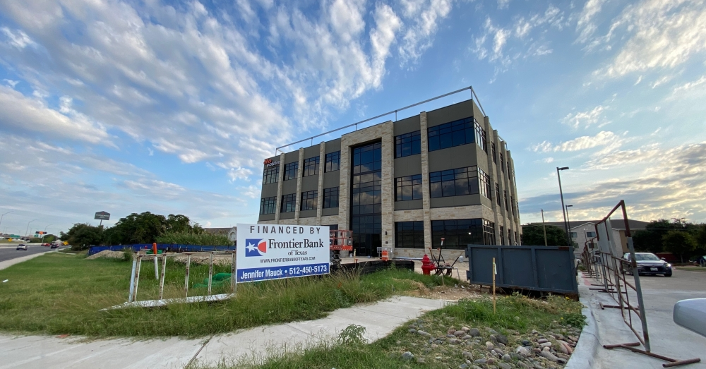 The facility, when completed, will offer 35 private and fully furnished offices, seven micro offices, six dedicated desks, a drop-in co-working lounge that fits 16, two conference rooms and two flexible day offices. (Brooke Sjoberg/Community Impact Newspaper)