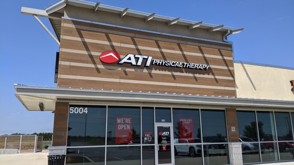 ATI Physical Therapy provides physical therapy and sports medicine. (Carson Ganong/Community Impact Newspaper)