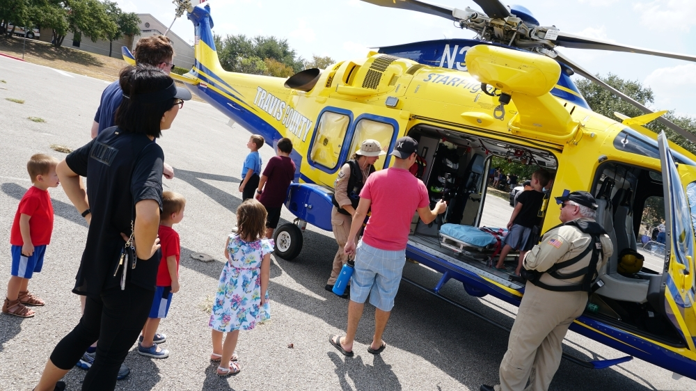 Chat with police officers and firefighters during the Lake Travis Public Safety Day Oct. 30. Learn about the tools they use to keep you and your loved ones safe. 11 a.m.-3 p.m. Free. Lake Travis Elementary School, 15303 Kollmeyer Drive, Lakeway. (Courtesy city of Lakeway)