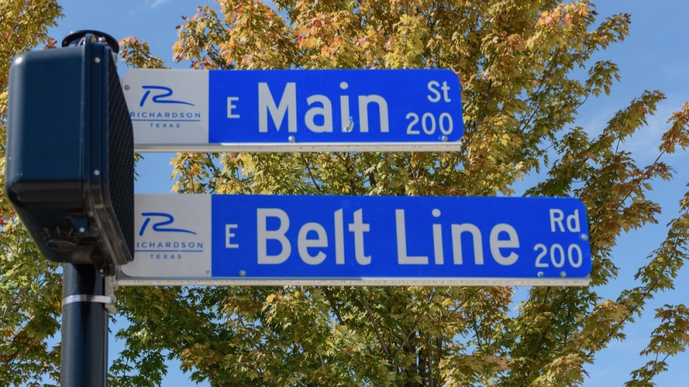 The Main Street project, which began in mid-2019, involved $21 million worth of infrastructure updates to about a mile's worth of Main Street and of Greenville Avenue. (Courtesy Cooksey Strategic Communications)